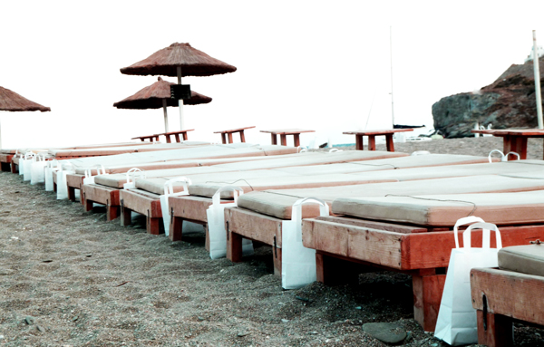kea wedding beachbed