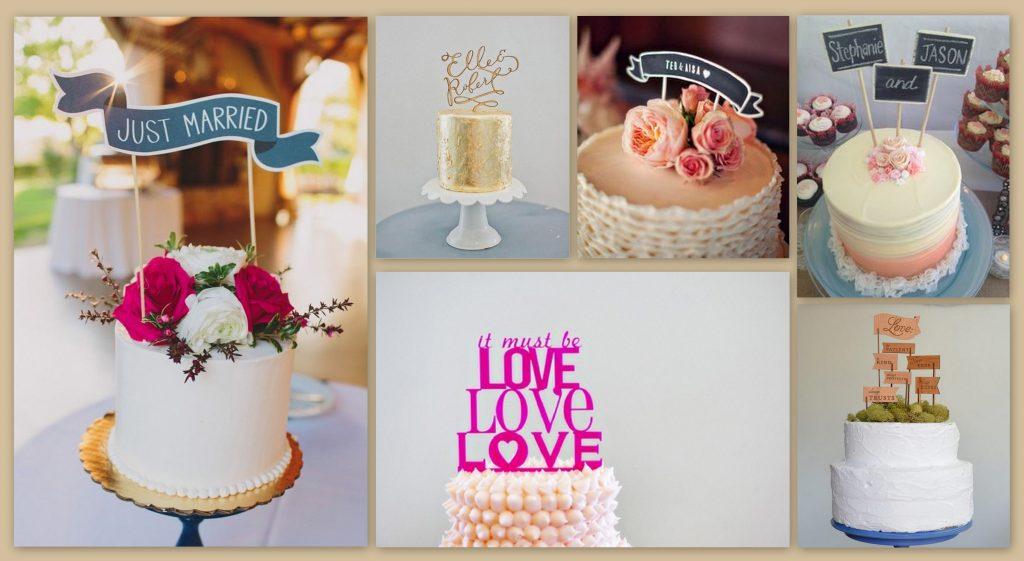 English Style Wedding Cakes