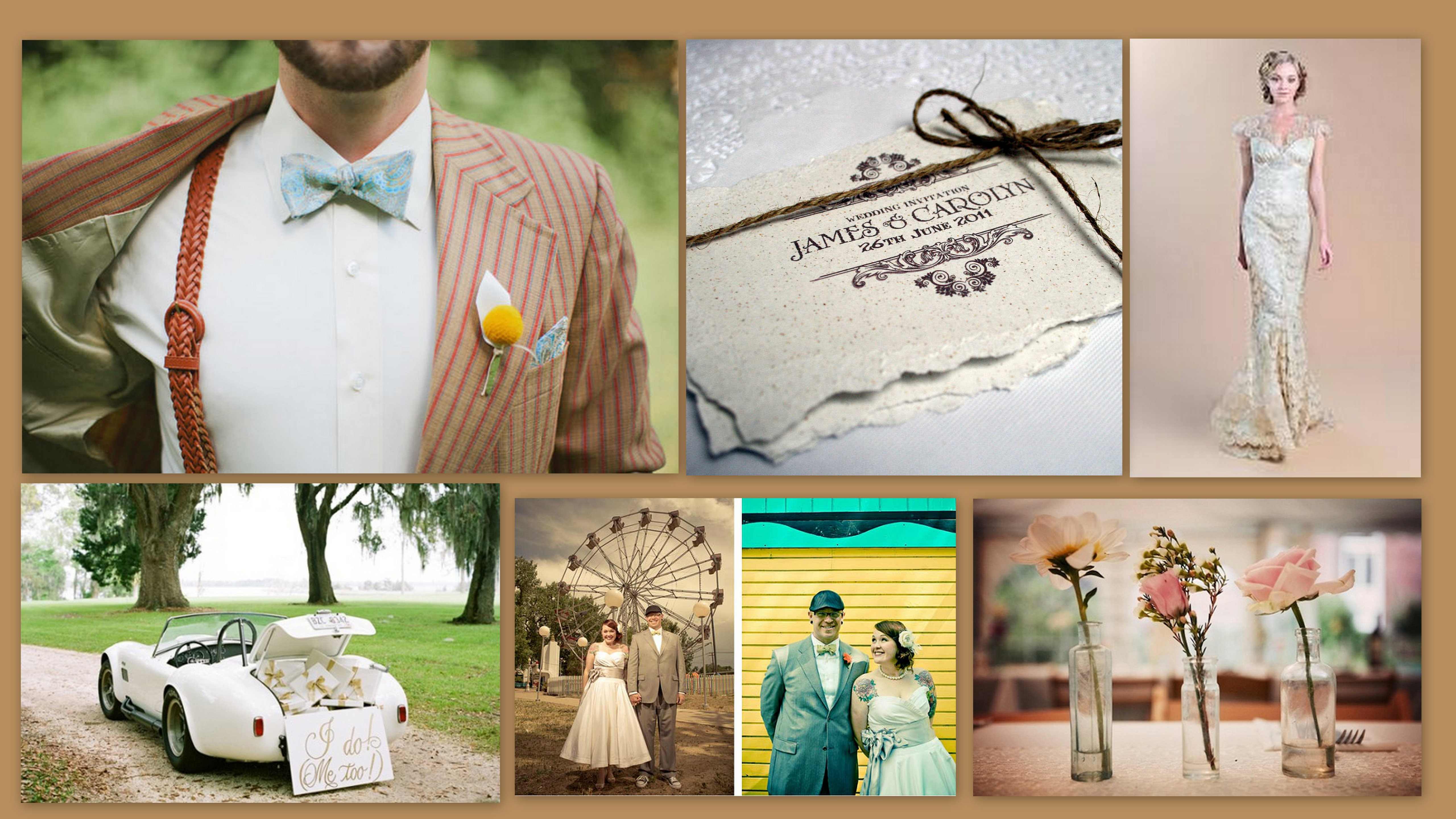 Vintage Theme Wedding Dreams In Style